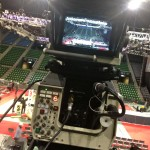The HD-broadcast camera used for super slow-motion.