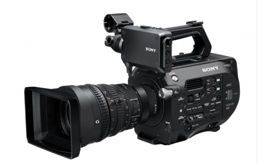 My new camera! Sony FS7.