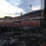 Packed to the last seat when The Boss is in Göteborg at Ullevi Arena.